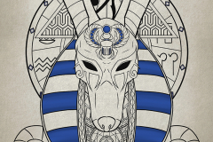"""Anubis from """"The Hidden Face"""" exhibition"""